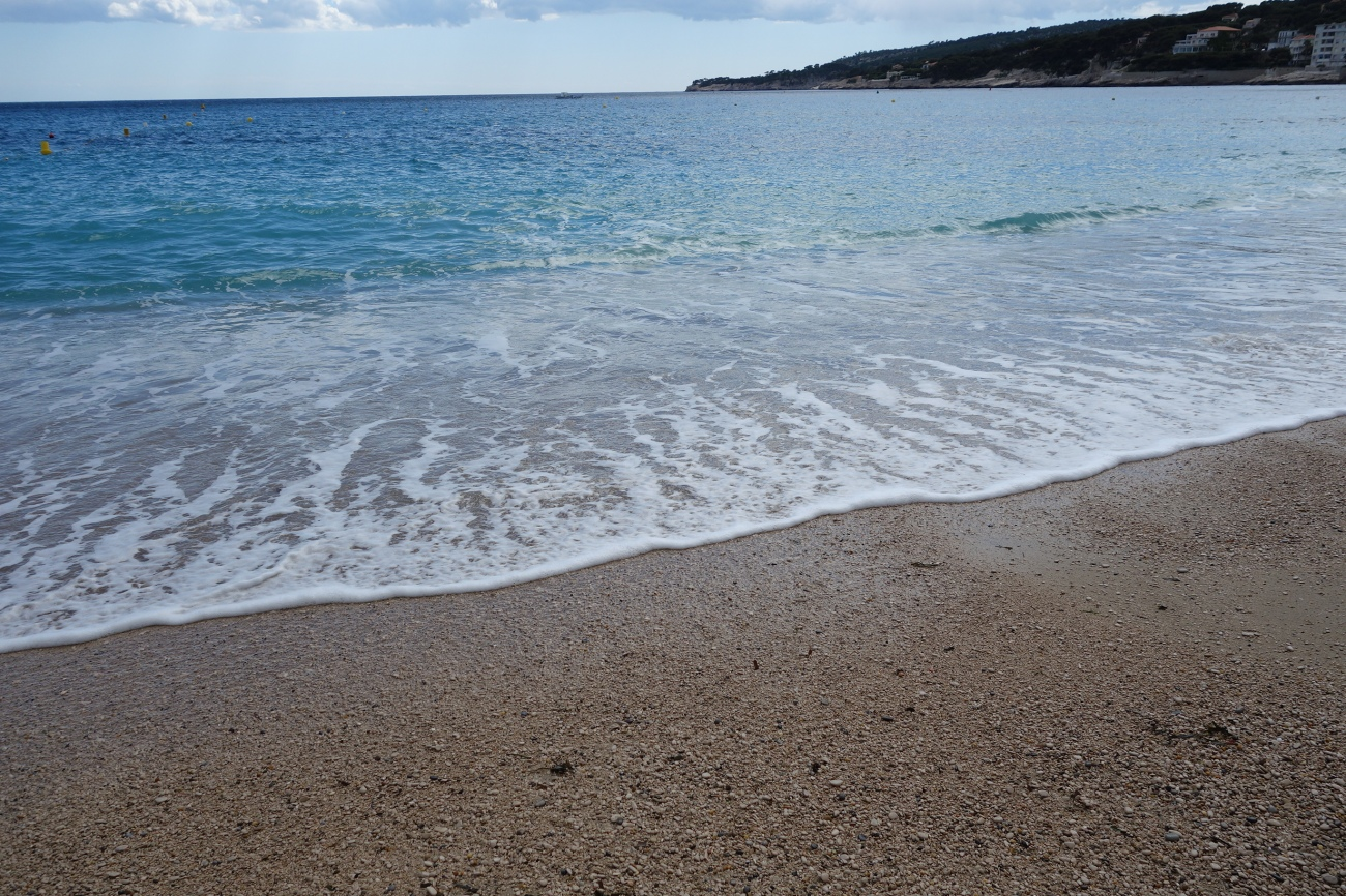 Sandy beach, La plage de la Grande Mer