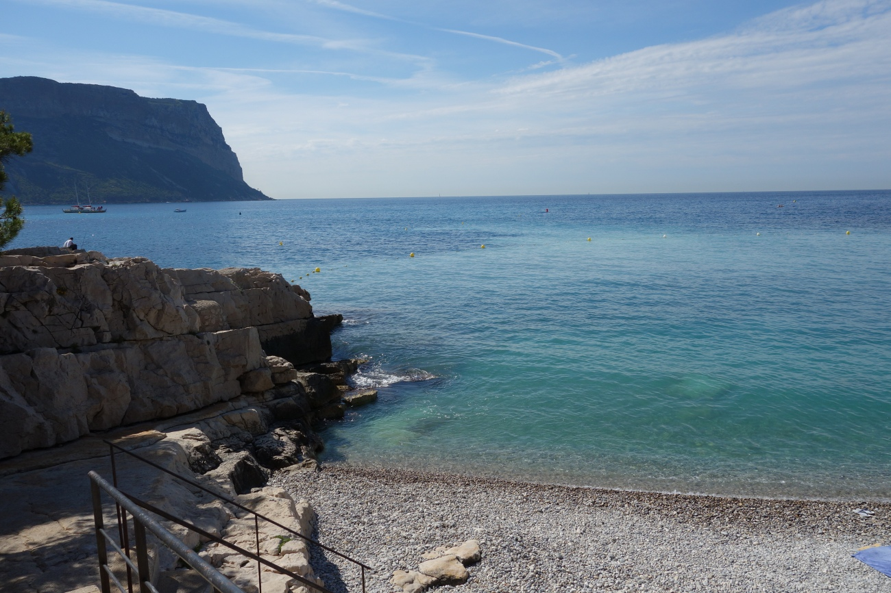 La plage du Bestouan beach, Cassis
