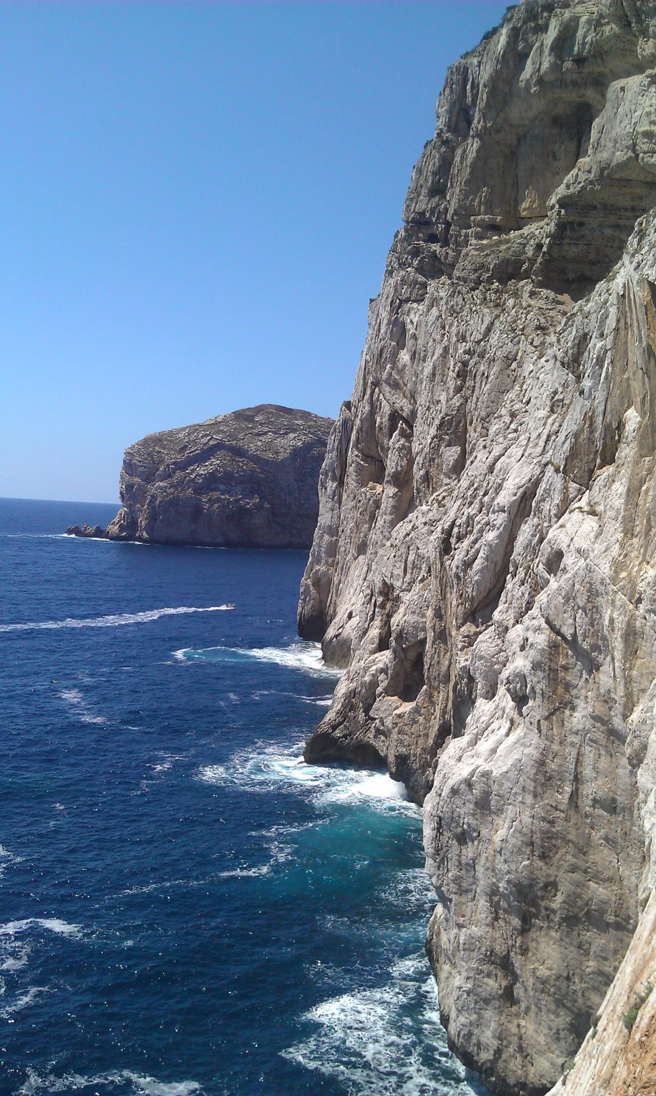 Cliffs to Grotta Nettuno, Alghero, Sardinia