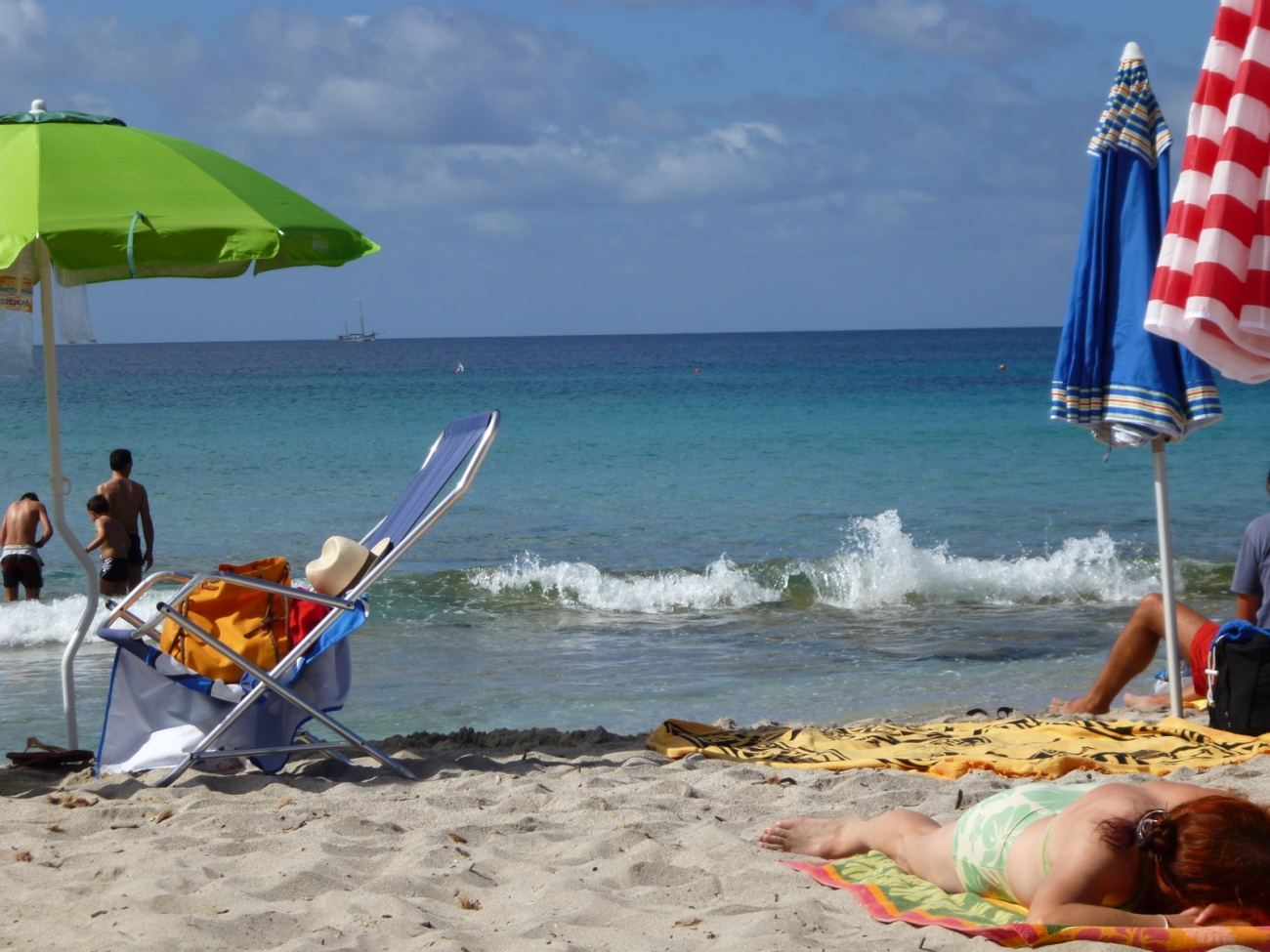 Le Bombarde beach, Alghero, Sardinia