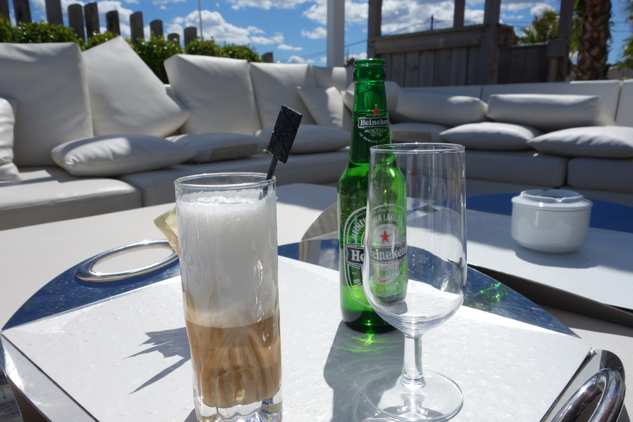 Manoah beach lounge bar, St. Tropez