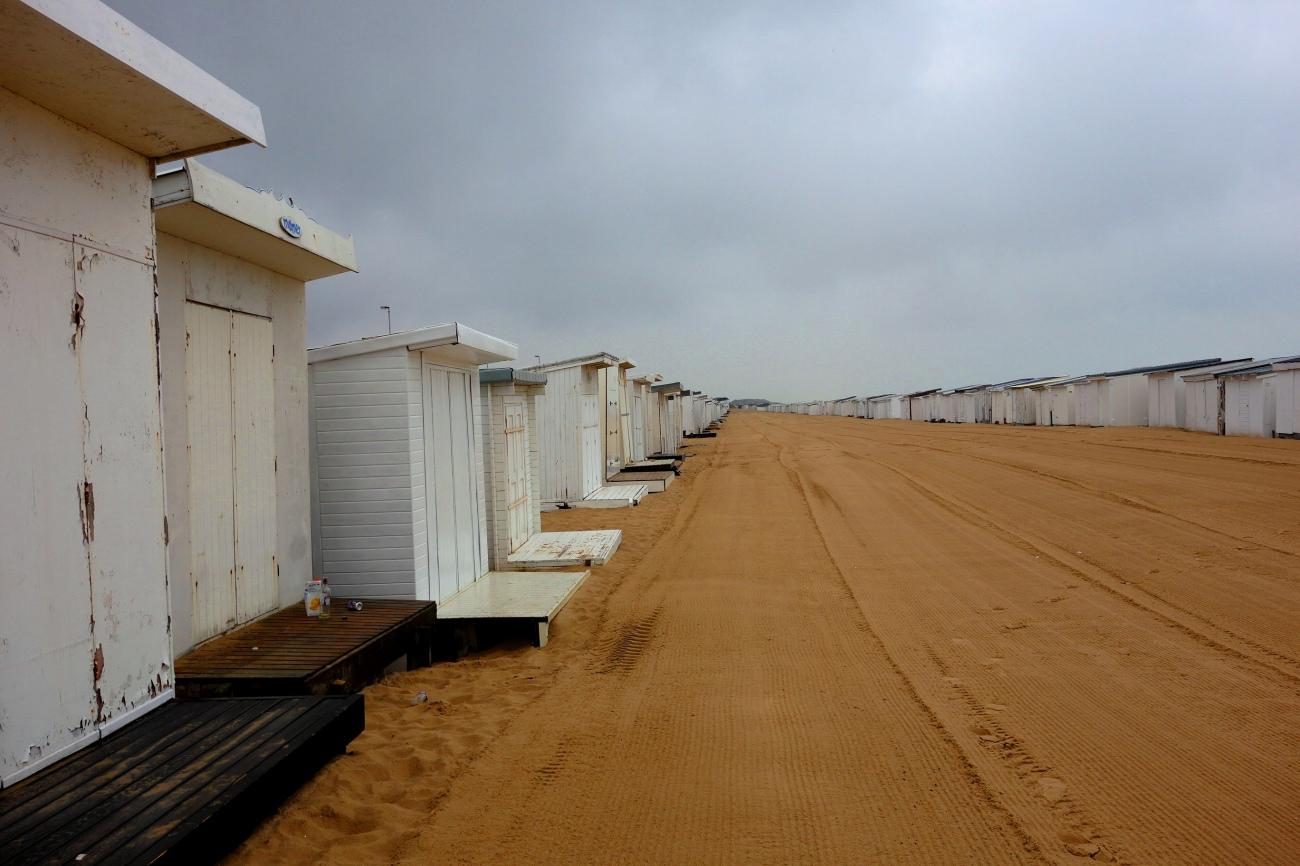 Calais beach, France