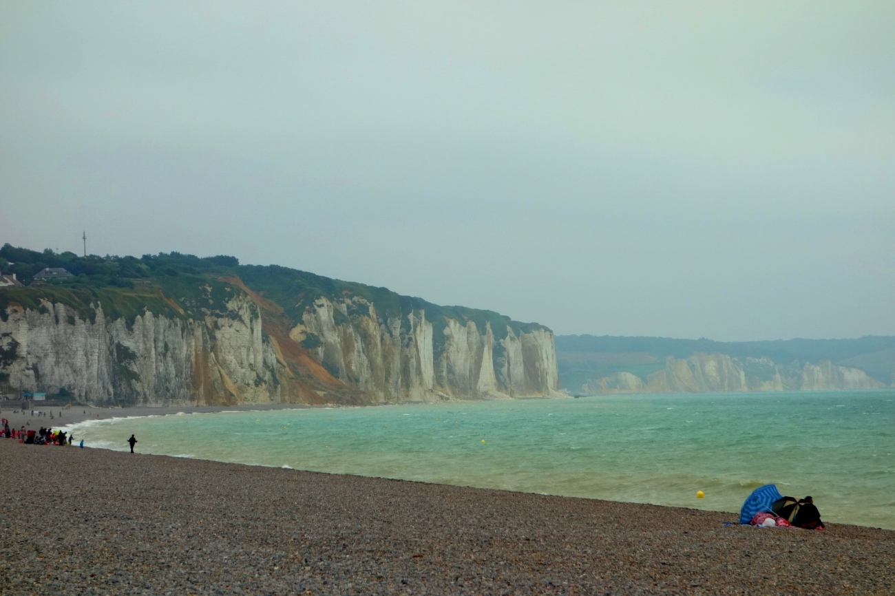 Dieppe beach, Normandy, France