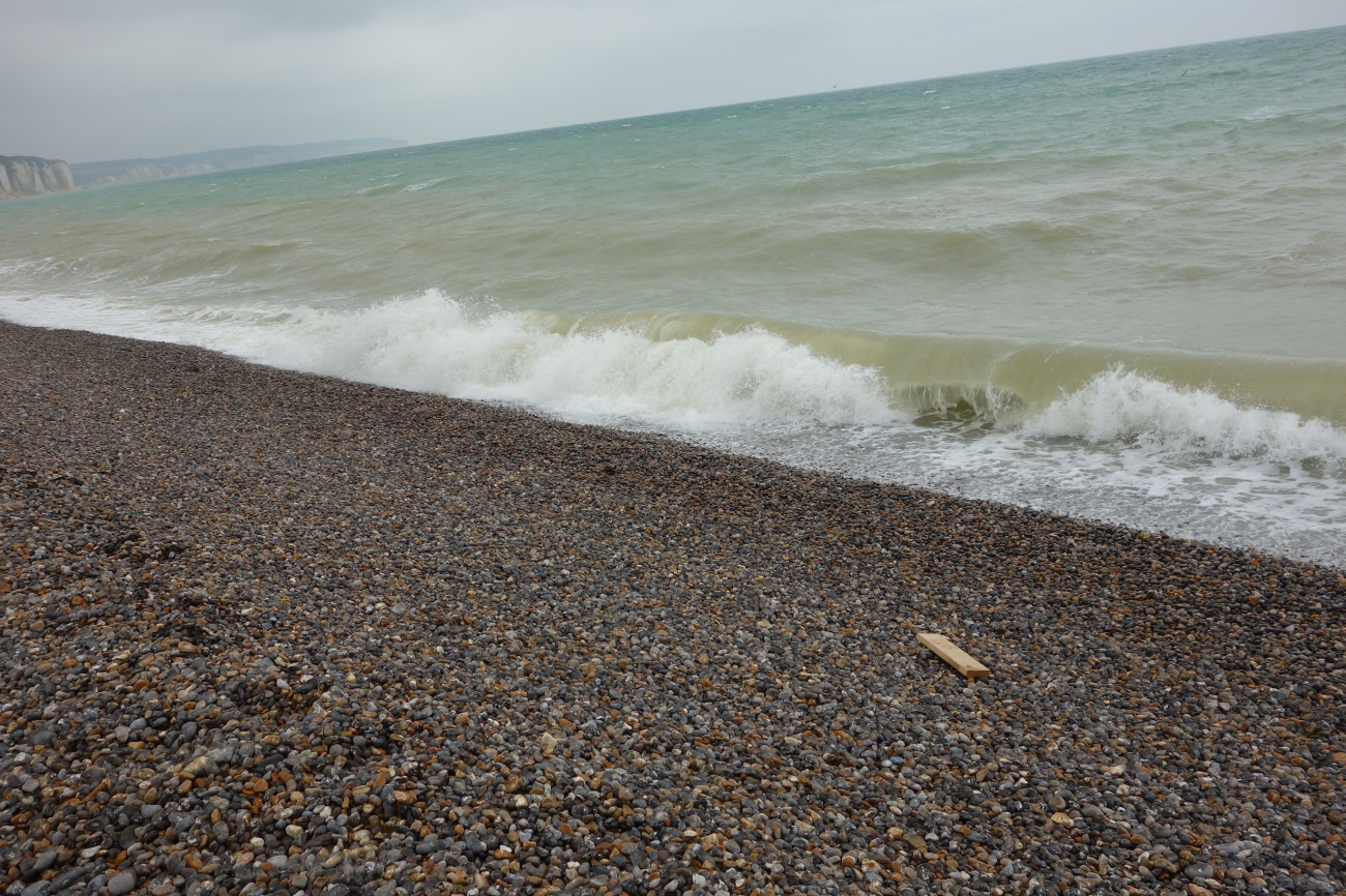 Dieppe beach, Normandy