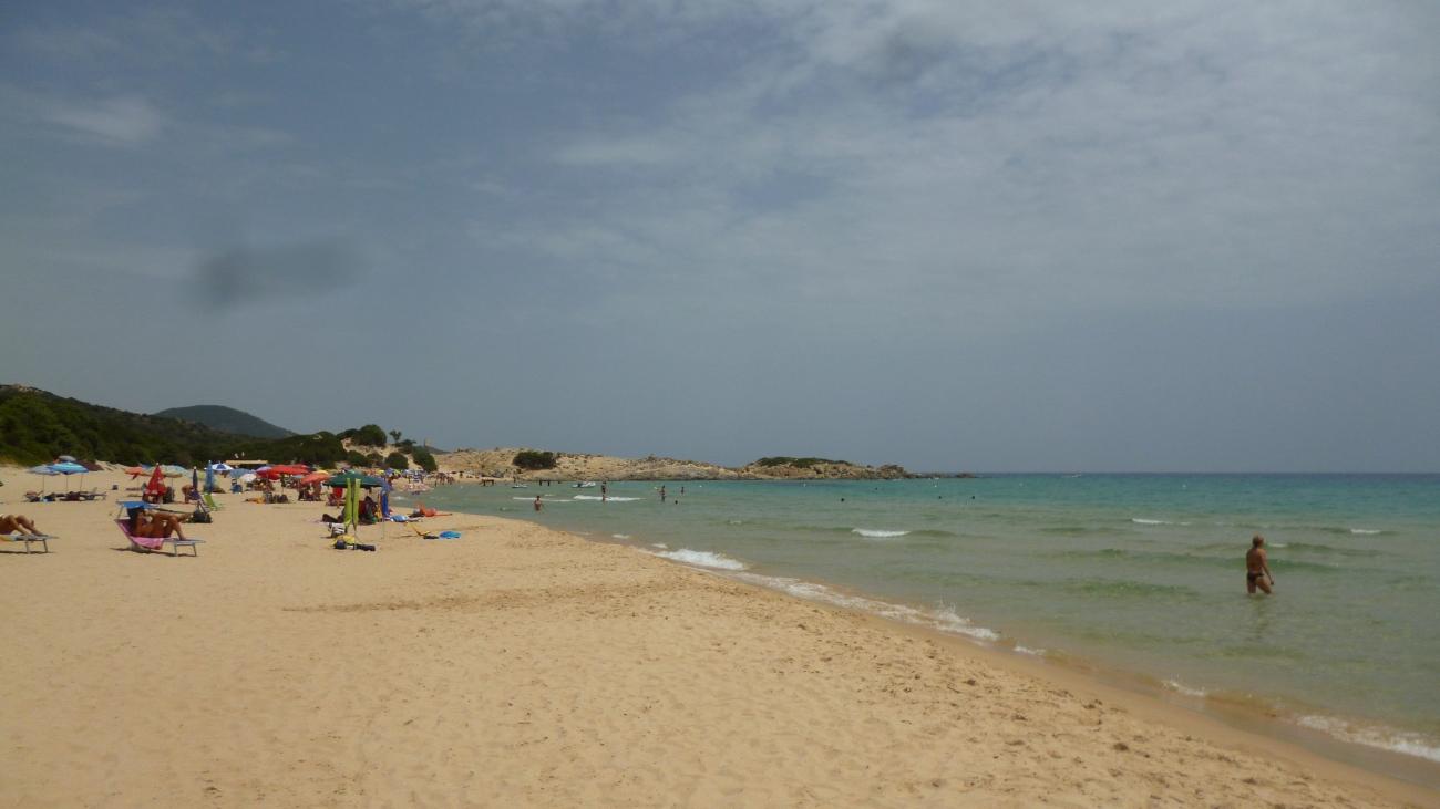 Campana beach, Chia, Sardinia