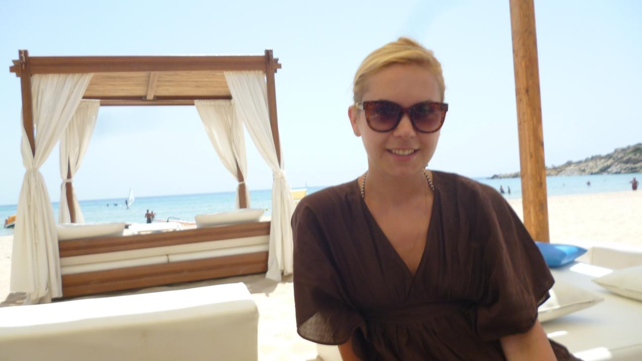 Su Gideu beach lounge