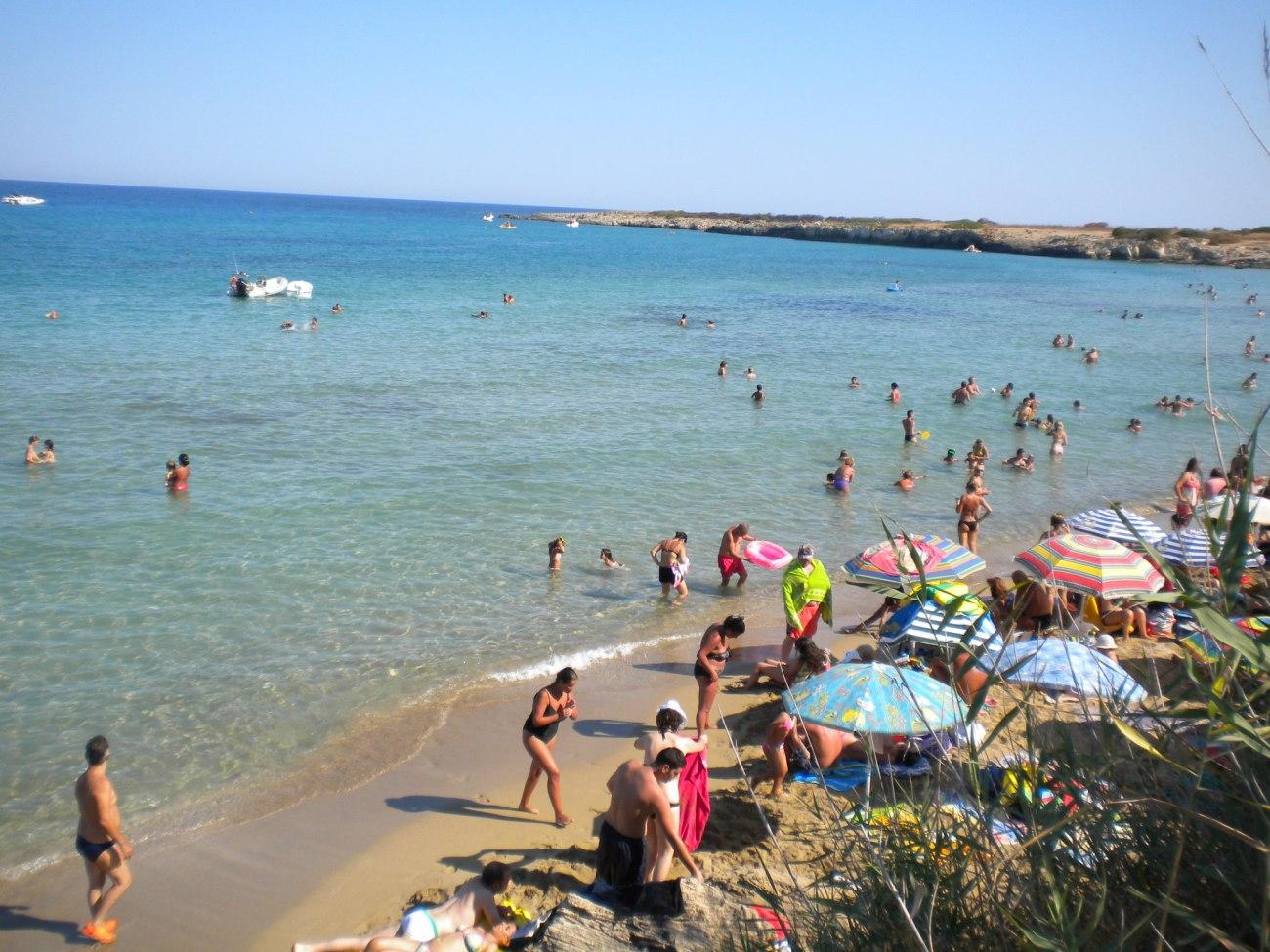 Syracuse beach, Sicily