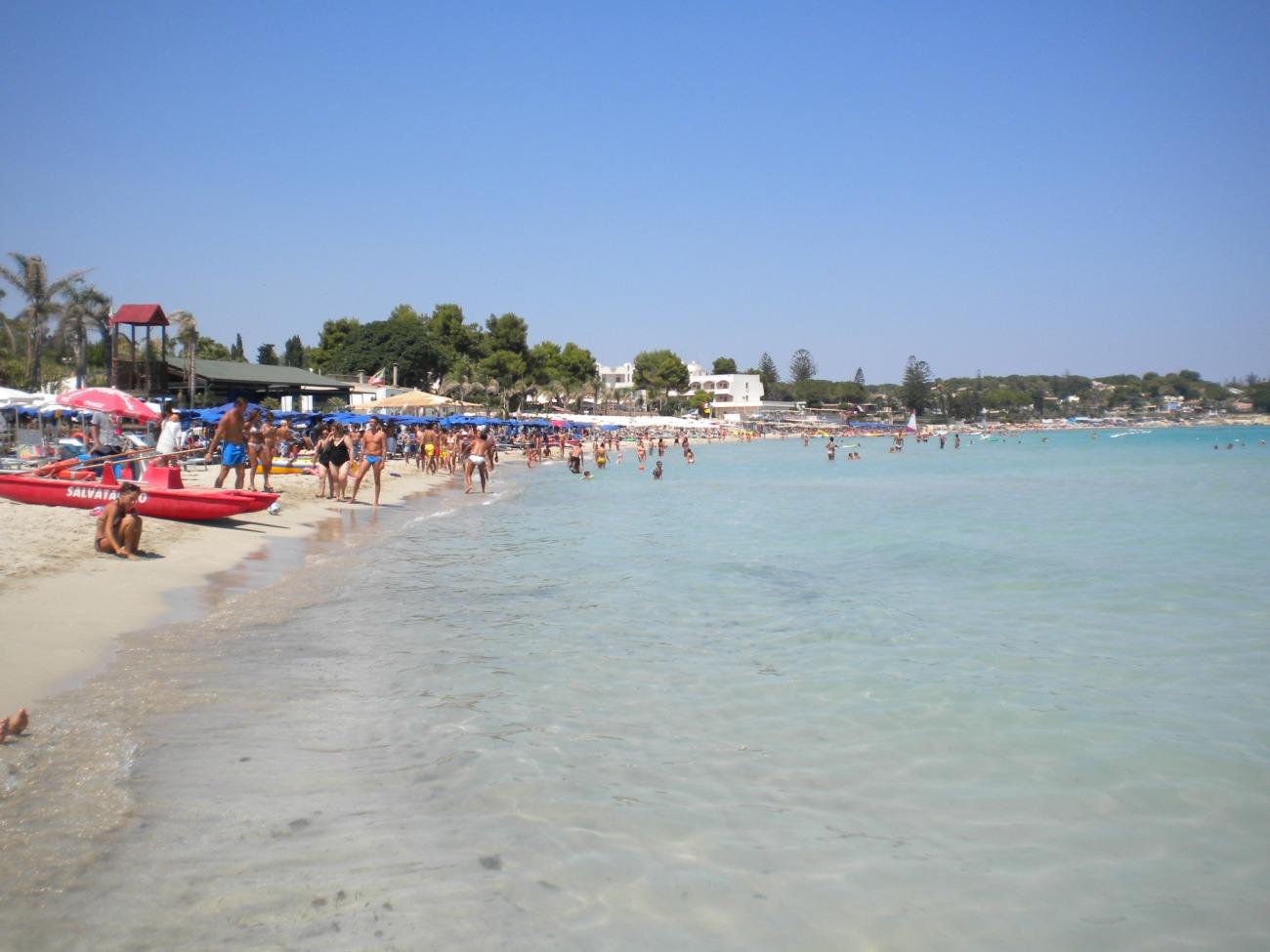 Fontane bianchi beach, Syracuse, Sicily