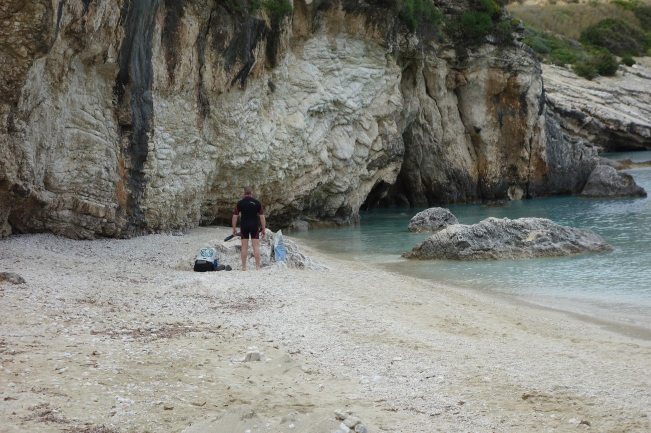 Xigia beach, St. Nicolas