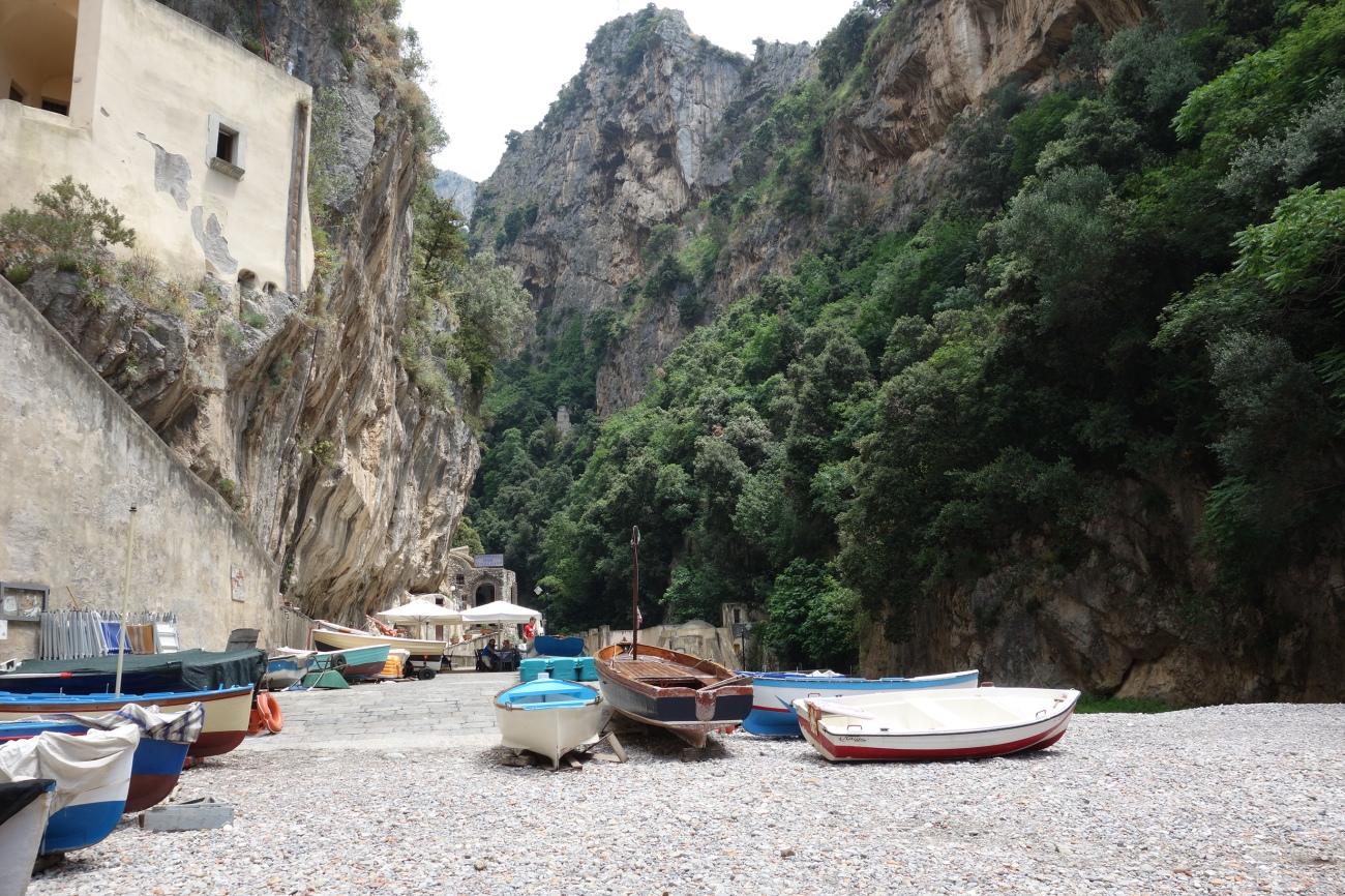 Furore Fjord, Amalfi coast