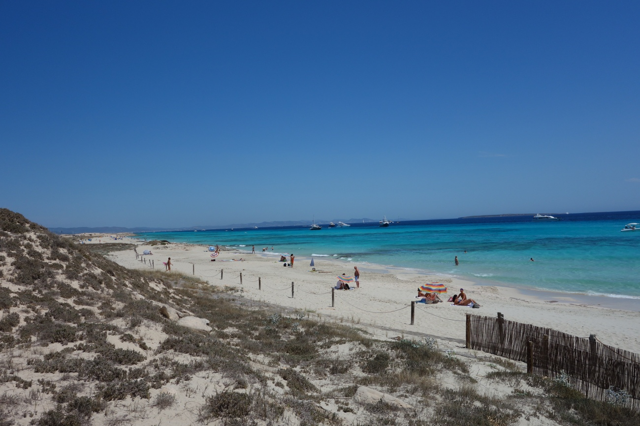 Playa Llevant, Formentera