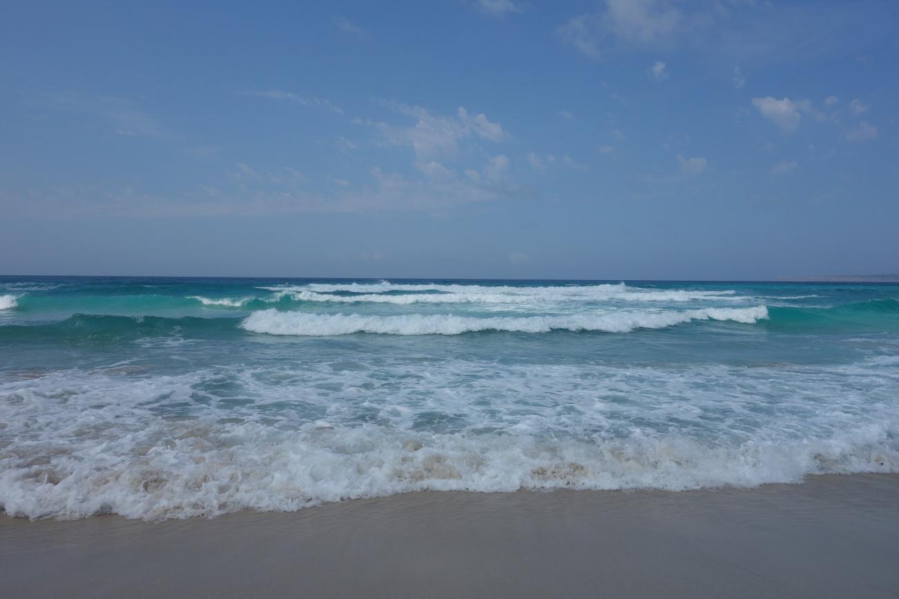Es Arenal beach, Formentera