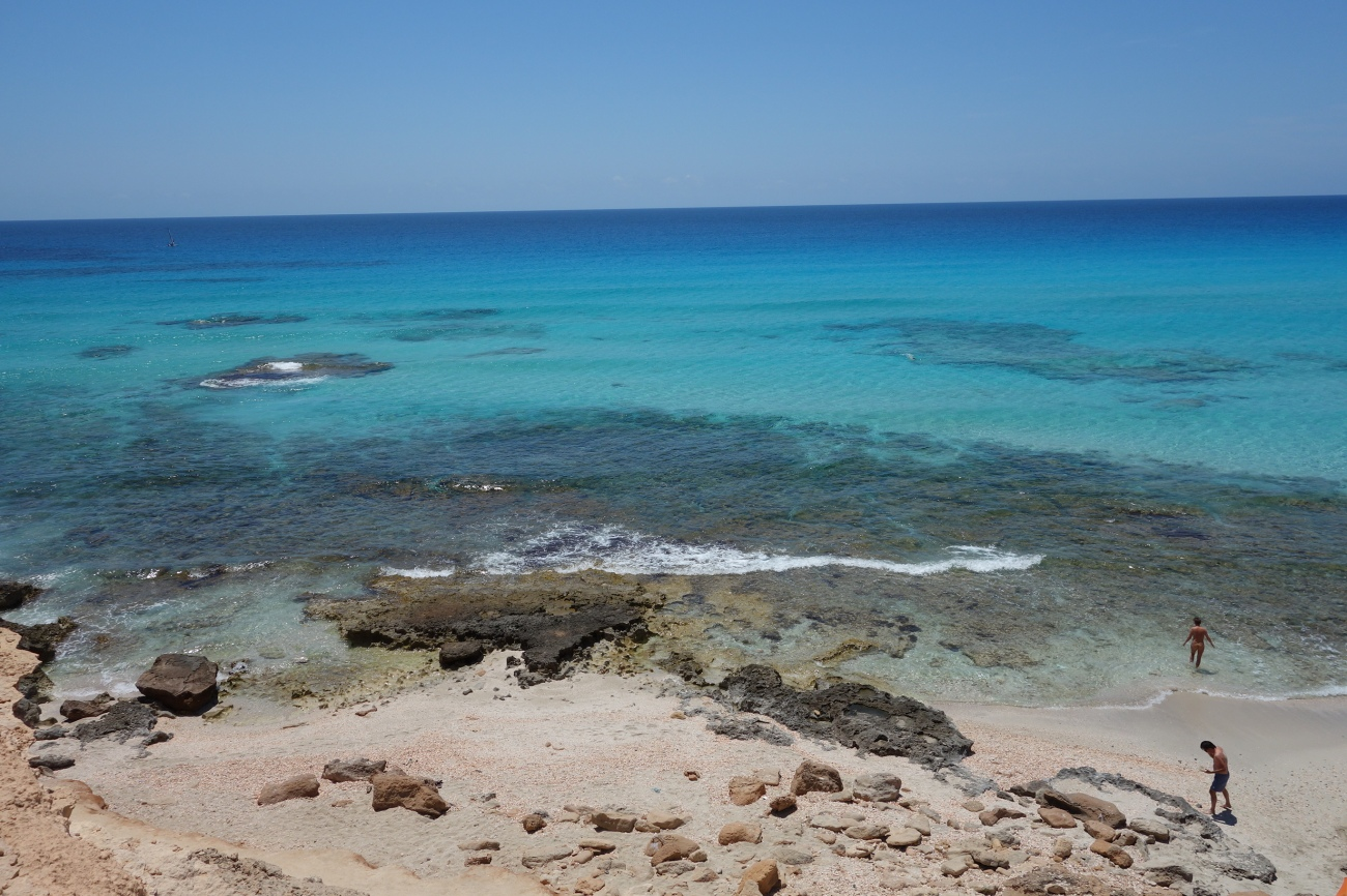 Es Copinar beach, Formentera