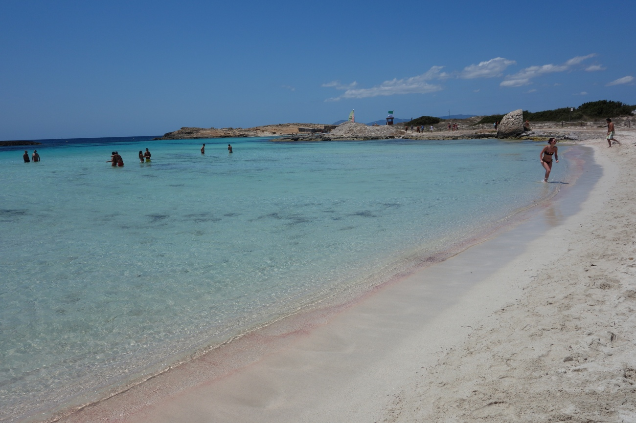 Ses Illetes beach, Formentera (first bay)