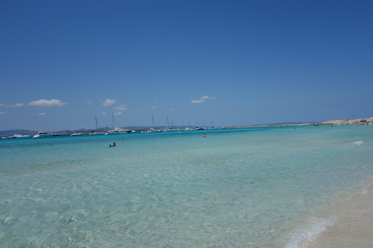 Ses Illetes beach, Formentera (second bay)