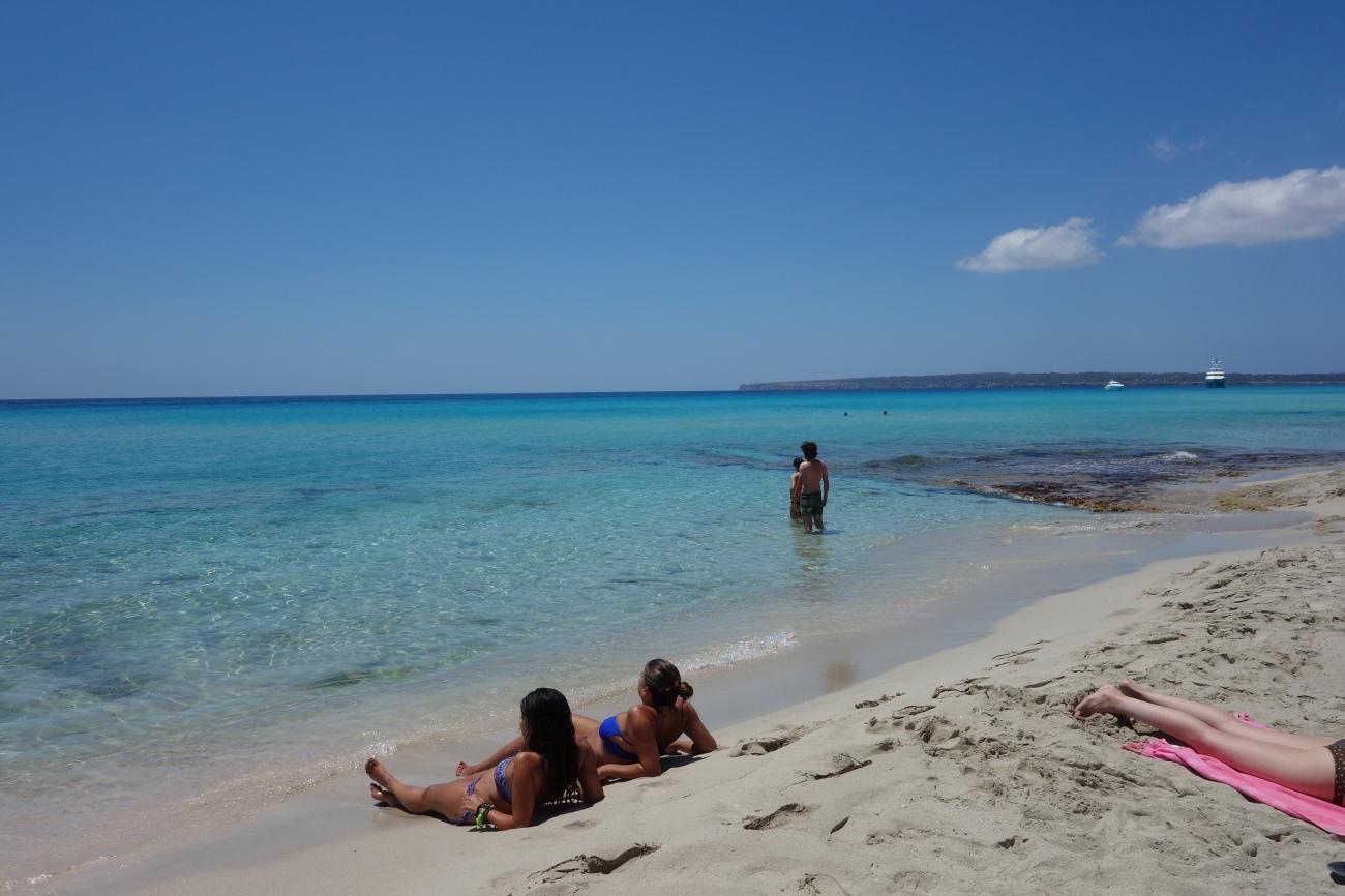 10.7 beach, Playa Migjorn, Formentera