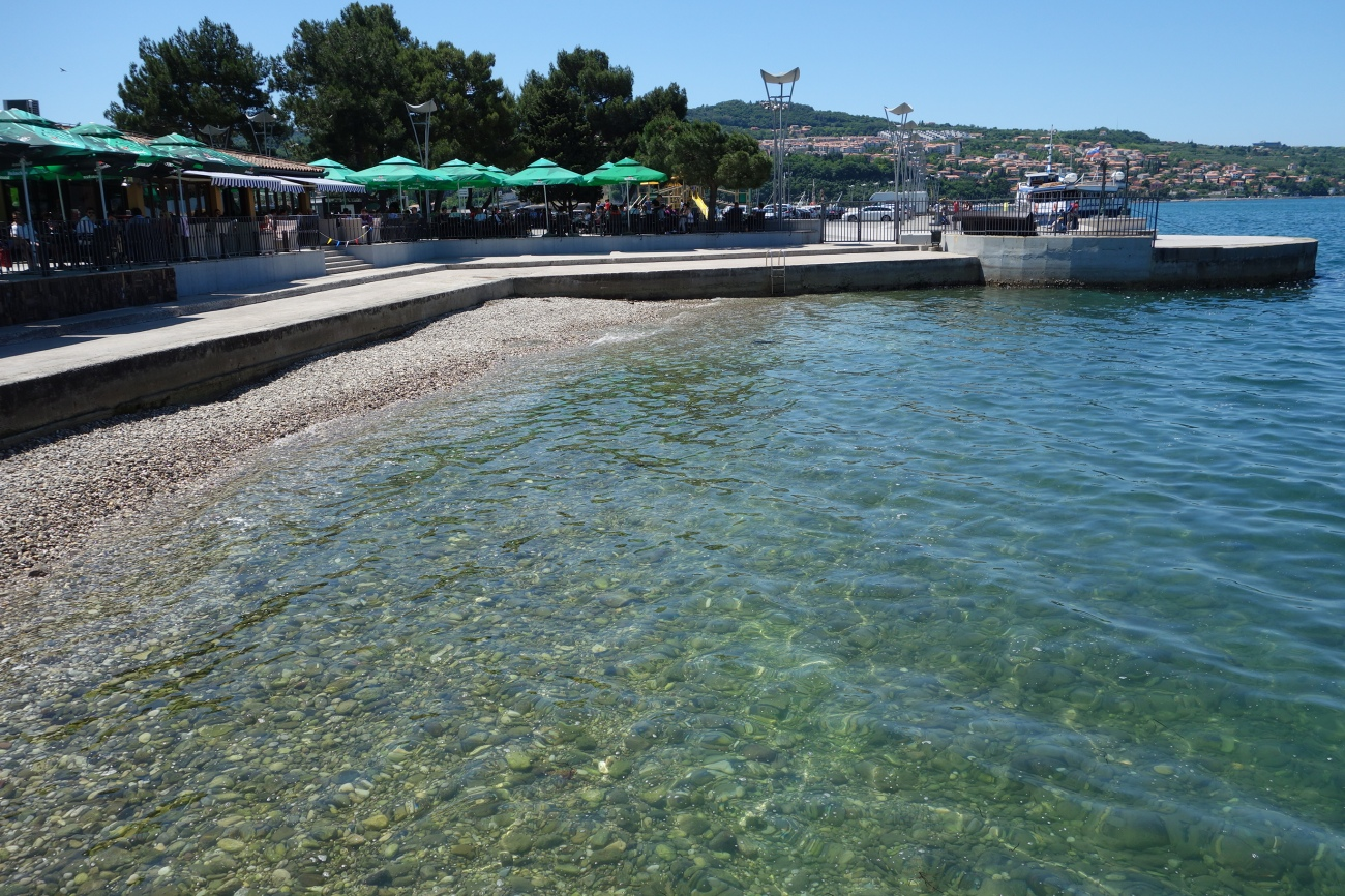 City beach, Koper, Slovenia