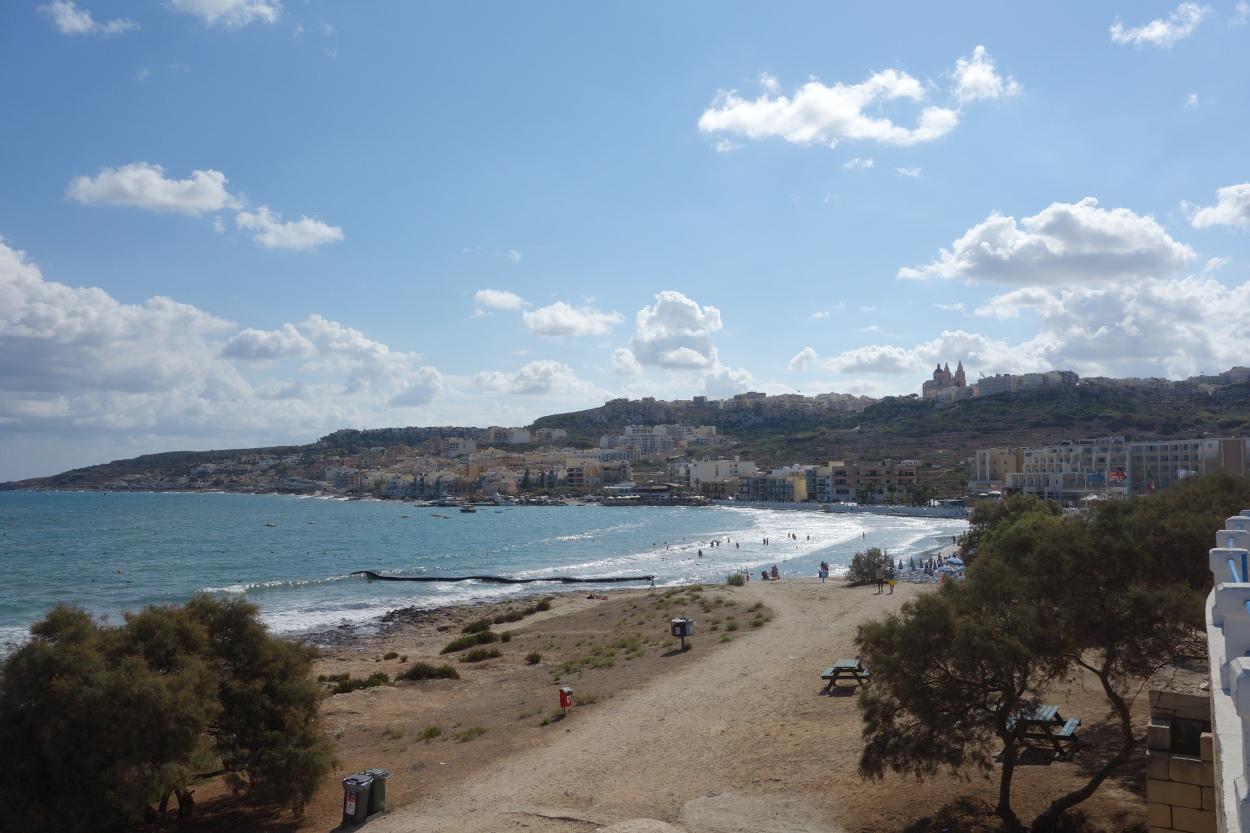 Mellieha bay, Malta