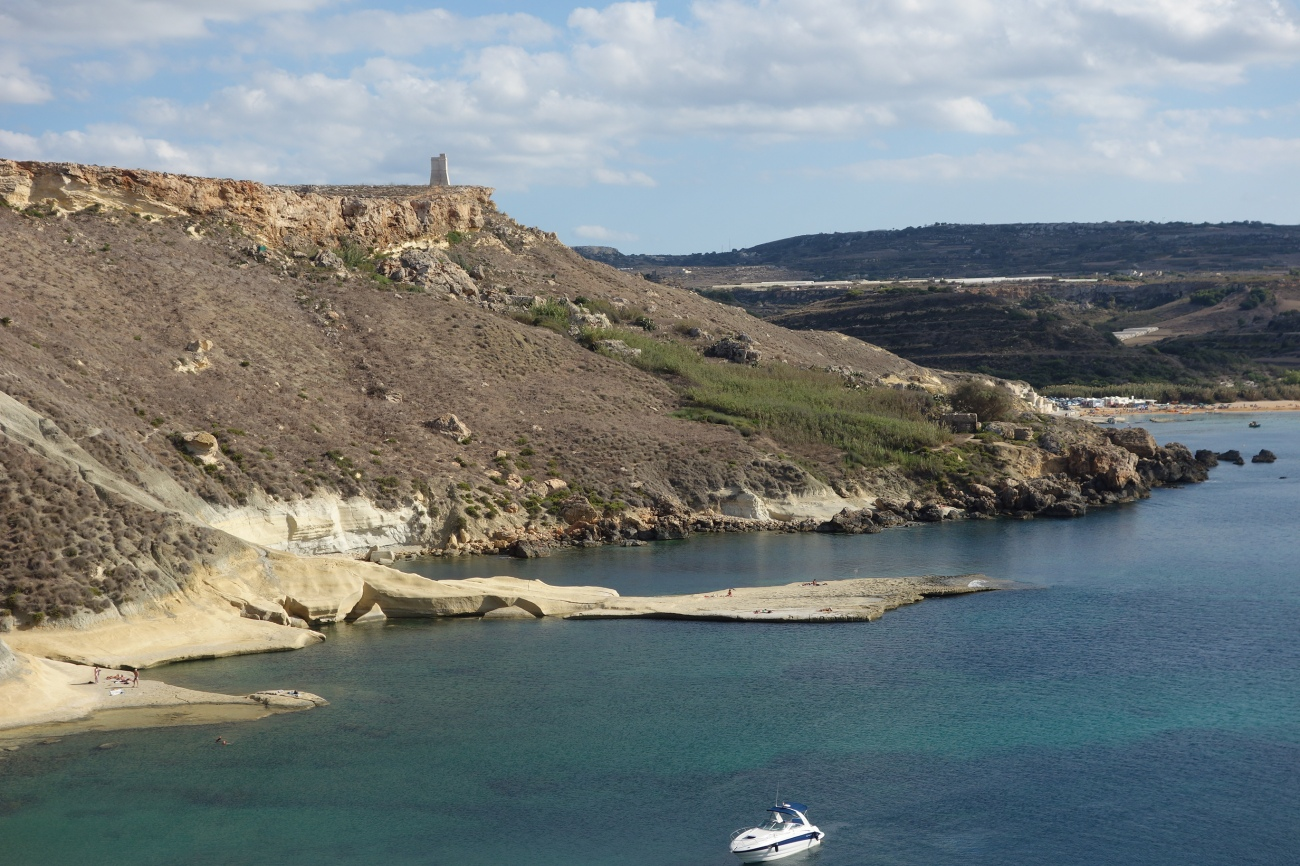 Gnejna bay - secret part, Malta