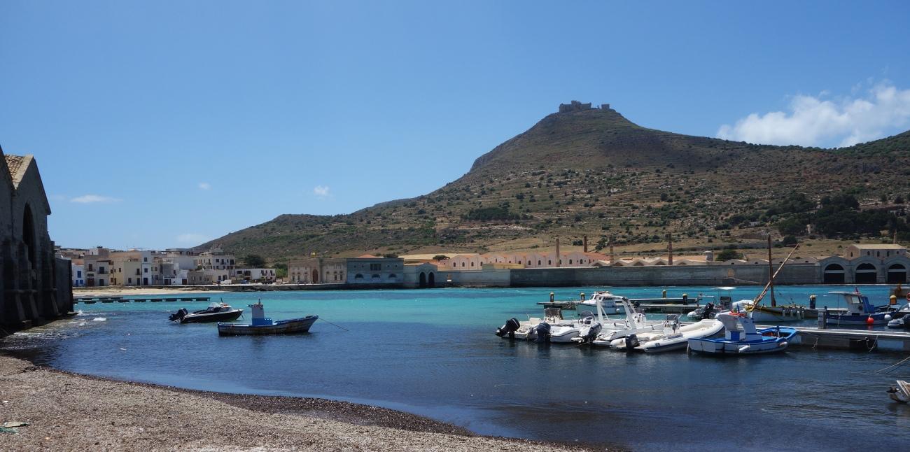 Praia beach, Favignana, Sicily