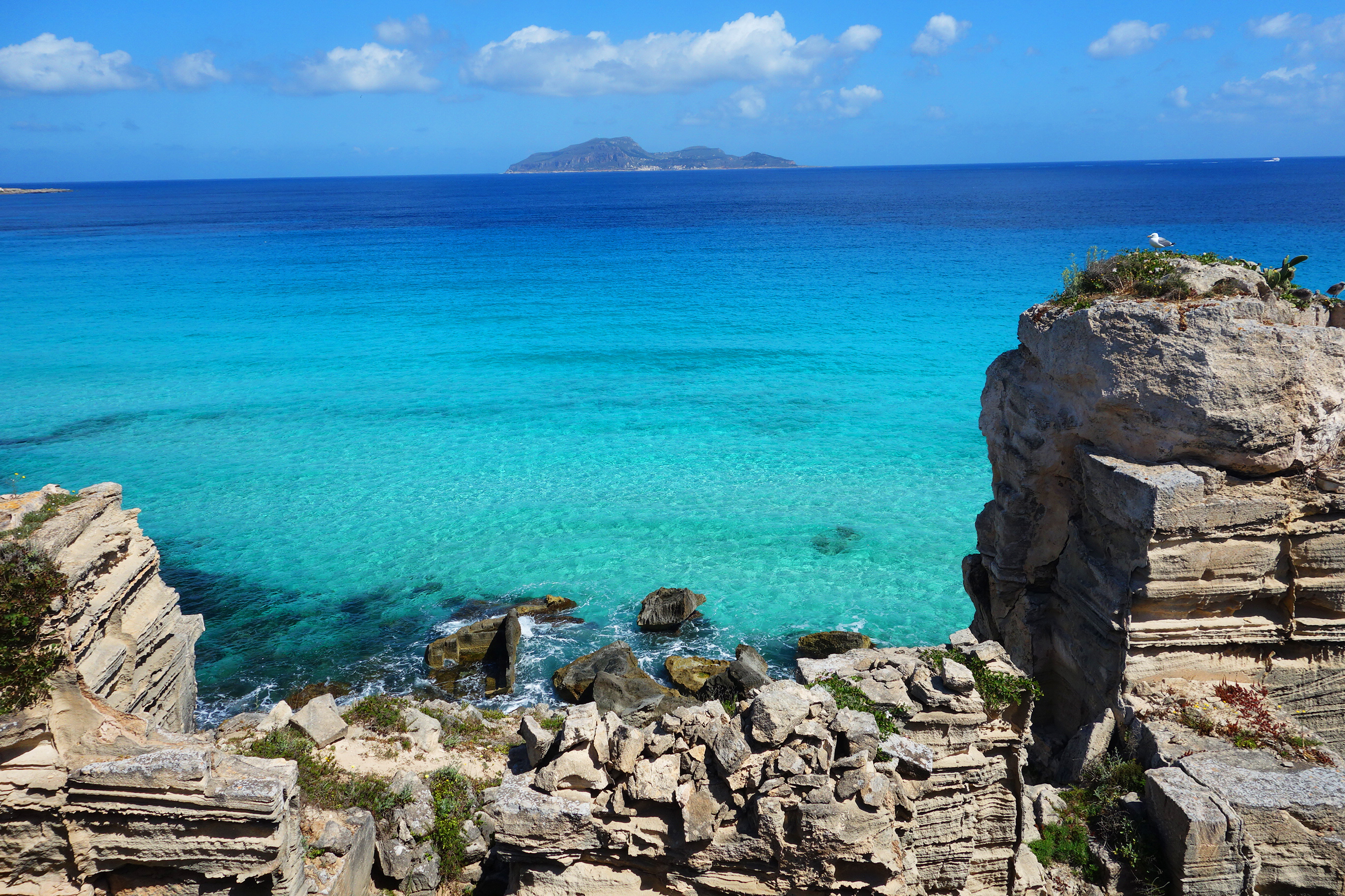 Miss Azure Coast Favignana best beaches Sicily Beach Lovers Diary