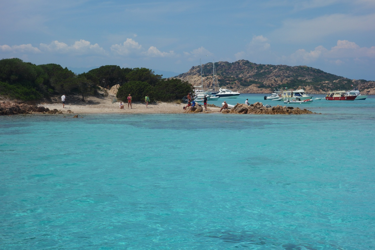 Spiaggia dei Cavalieri, Budelli island, Maddalena Archipellago, Sardinia