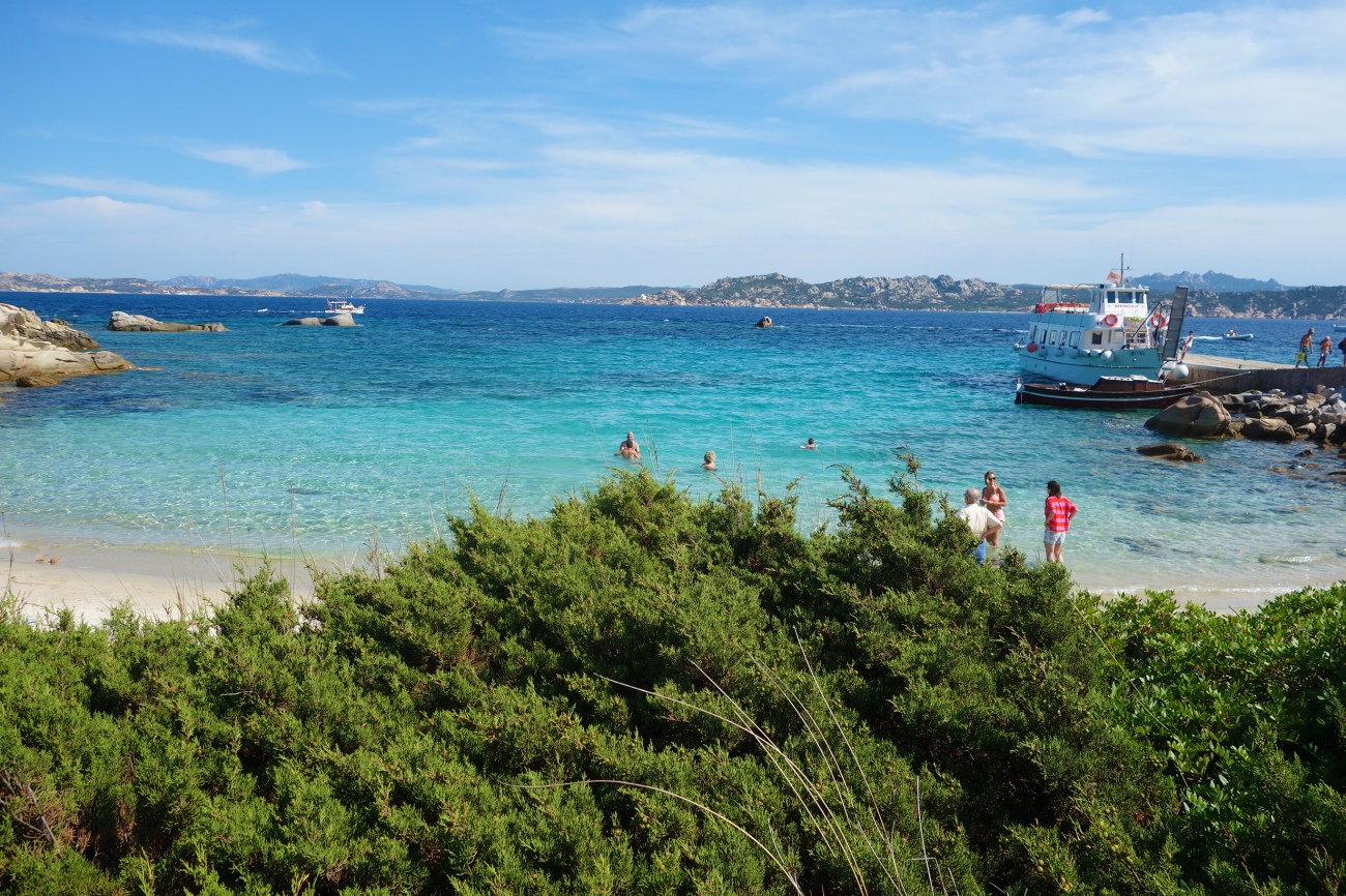 Cala Corsara, Spargi island, Maddalena archipellaho, Sardinia