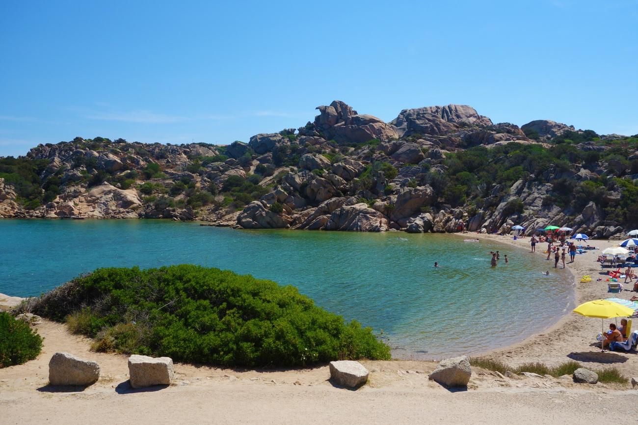 Spiaggia di Spalmatore, La Maddalena, Sardinia