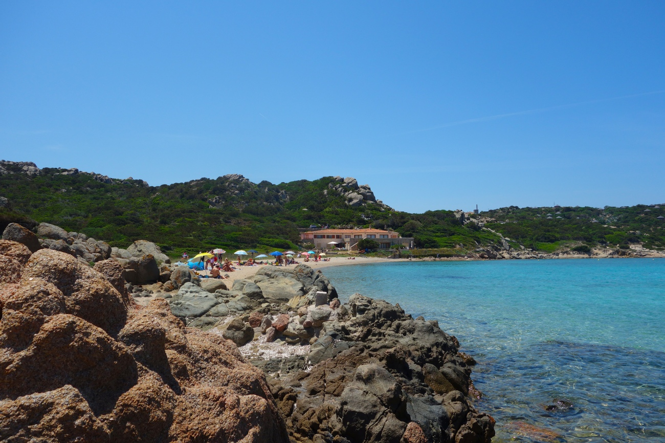 Spiaggia Monto dell' Arena, La Maddalena, Sardinia