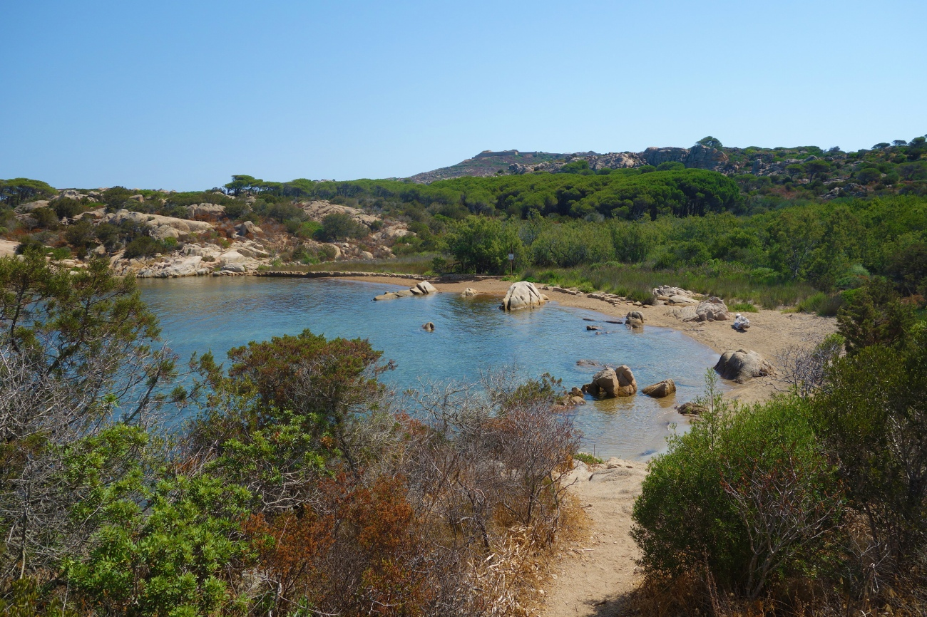 Spiaggia di Cala Garibaldi, Caprera, Sardinia
