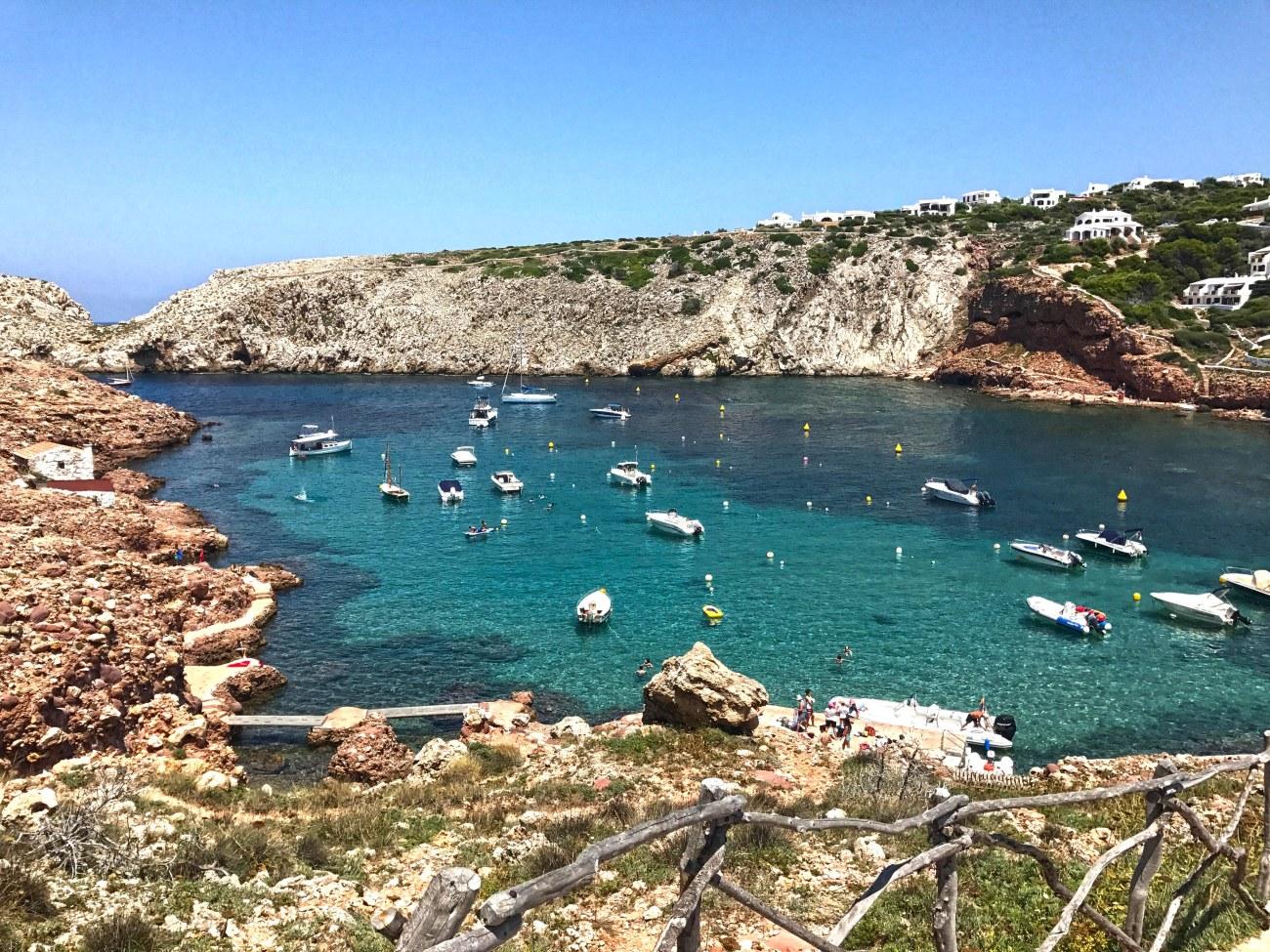Cala Morell beach